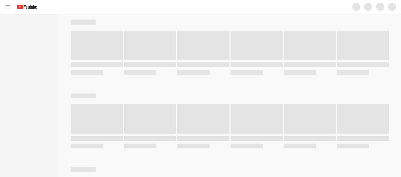 Loading state of youtube
